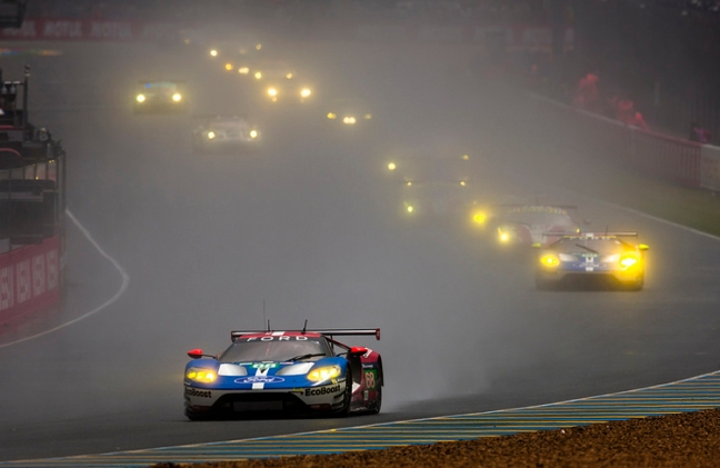 Ford-GT-Lemans-Rain