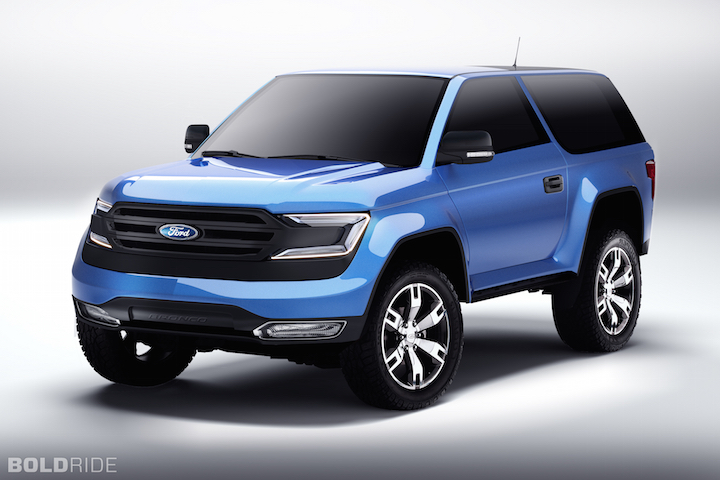 ford-trucks.com: New Bronco Rendering Surfaces, Does It ...